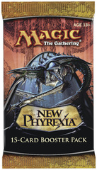 New Phyrexia Booster Pack on Channel Fireball