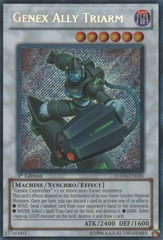 Genex Ally Triarm - HA04-EN026 - Secret Rare - 1st Edition