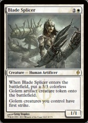 Blade Splicer on Channel Fireball