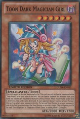 Toon Dark Magician Girl - GLD4-EN015 - Common - Limited Edition