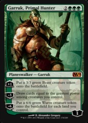Garruk, Primal Hunter on Channel Fireball