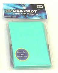 Dek Prot 50ct. Yugioh Sized Sleeves - Seafoam Green