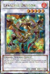 Lavalval Dragon - DT05-EN037 - Ultra Rare - 1st Edition