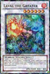 Laval the Greater - DT05-EN038 - Super Parallel Rare - Duel Terminal on Channel Fireball