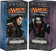 Magic 2012 Event Decks: Set of 2 on Channel Fireball