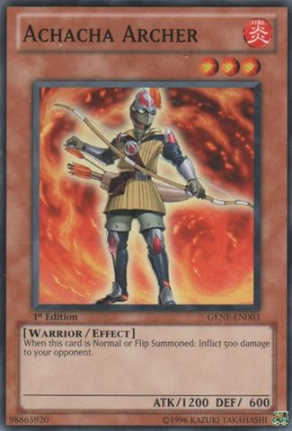 Achacha Archer - GENF-EN003 - Common - 1st Edition