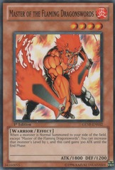 Master of the Flaming Dragonswords - GENF-EN032 - Common - 1st Edition