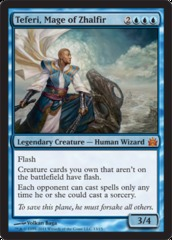 Teferi, Mage of Zhalfir on Channel Fireball
