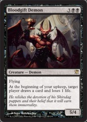 Bloodgift Demon on Channel Fireball