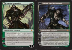 Garruk Relentless // Garruk, the Veil-Cursed on Channel Fireball