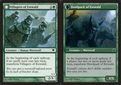 Villagers of Estwald // Howlpack of Estwald