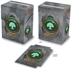 Ultra Pro Green Mana Symbol 3 Deck Box