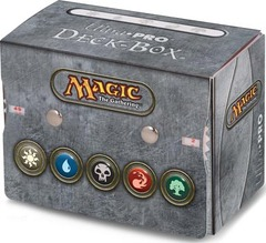 Ultra Pro Sideloading Mana Symbol 3 Deck Box (with built-in Life Counter) on Channel Fireball