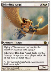 Blinding Angel - Foil on Channel Fireball