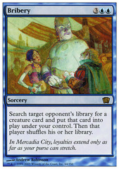 Bribery - Foil on Channel Fireball