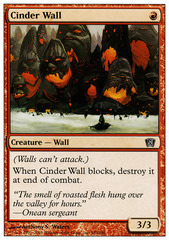 Cinder Wall - Foil