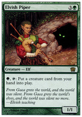 Elvish Piper - Foil on Channel Fireball