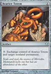 Avarice Totem - Foil on Channel Fireball