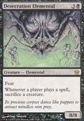 Desecration Elemental - Foil