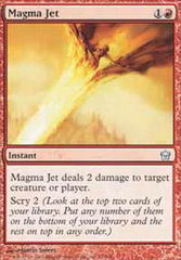 Magma Jet - Foil on Channel Fireball