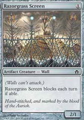 Razorgrass Screen - Foil