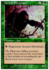 Ancient Silverback - Foil on Channel Fireball