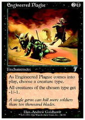 Engineered Plague - Foil on Channel Fireball