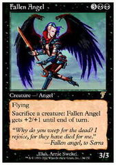 Fallen Angel - Foil on Channel Fireball