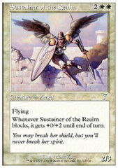 Sustainer of the Realm - Foil on Channel Fireball