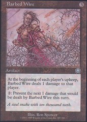 Barbed Wire - Foil on Channel Fireball