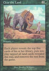 Clear the Land - Foil