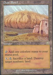 Dust Bowl - Foil on Channel Fireball