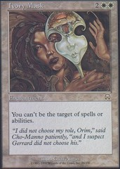Ivory Mask - Foil on Channel Fireball