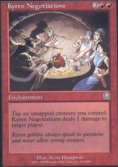 Kyren Negotiations - Foil