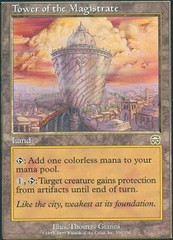 Tower of the Magistrate - Foil on Channel Fireball