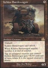 Keldon Battlewagon - Foil