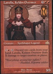 Latulla, Keldon Overseer - Foil on Channel Fireball