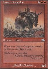 Lesser Gargadon - Foil