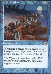 Overburden - Foil on Channel Fireball