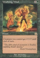 Vitalizing Wind - Foil on Channel Fireball
