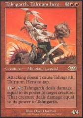 Tahngarth, Talruum Hero - Foil on Channel Fireball