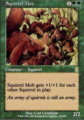 Squirrel Mob - Foil on Channel Fireball