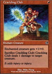 Crackling Club - Foil on Channel Fireball