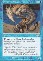 Synapse Sliver - Foil on Channel Fireball