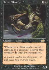 Toxin Sliver - Foil on Channel Fireball