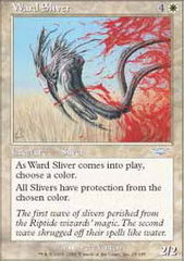 Ward Sliver - Foil on Channel Fireball