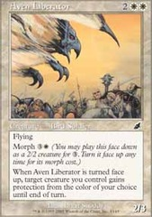 Aven Liberator - Foil on Channel Fireball
