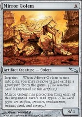 Mirror Golem - Foil