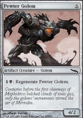 Pewter Golem - Foil