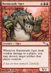 Rustmouth Ogre - Foil